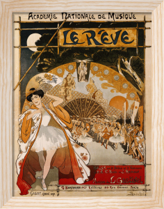 Le Reve, 1891 by Theophile-Alexandre Steinlen