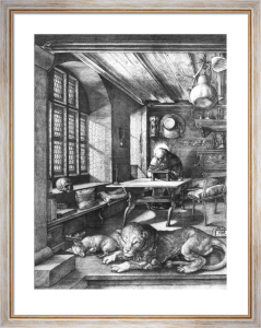 Saint Jerome in his Study, 1514 by Albrecht Dürer