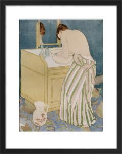 Woman Bathing, 1890 by Mary Cassatt