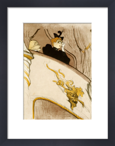 The Box At The Mascaron Dore. Le Loge Au Mascaron Dore, 1894 by Henri de Toulouse-Lautrec