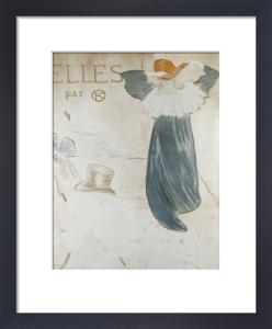 Frontispice Pour Elles, 1896 by Henri de Toulouse-Lautrec