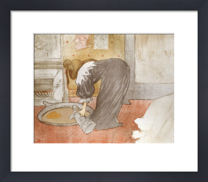 Femme Au Tub, From Elles, 1896 by Henri de Toulouse-Lautrec