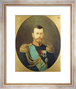 Tsar Nicholas II (1865-1918), 1895 by Christie's Images