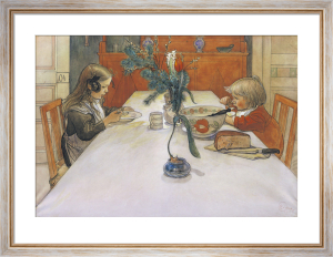 Aftonvarden - The Evening Meal by Carl Larsson
