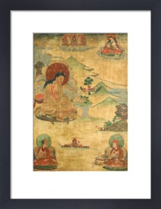 An East Tibetan Thang.Ka Depicting Mi.La.Ras.Pa by Christie's Images