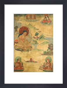 An East Tibetan Thang.Ka Depicting Mi.La.Ras.Pa by Christie's Images