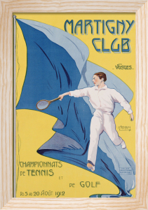 Martigny Club. M. Tremblay, 1912 by Christie's Images