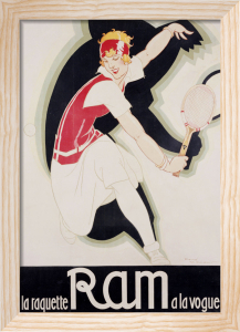 Ram, Circa. 1930 by Rene Vincent