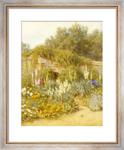 Gertrude Jekyll's Garden, Munstead Wood by Helen Allingham