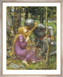 A Study for 'La Belle Dame Sans Merci' by John William Waterhouse