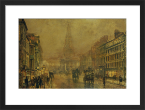 Blackman Street, Borough by John Atkinson Grimshaw