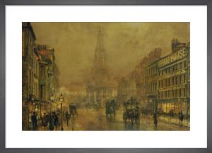 Blackman Street, Borough by John Atkinson Grimshaw