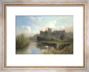 Windsor Castle From The Thames by Walter H. Goldsmith