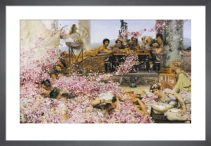 The Roses of Heliogabalus, 1888 by Sir Lawrence Alma-Tadema