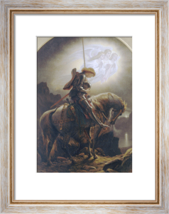 Sir Galahad's Vision Of The Holy Grail by Sir Joseph Noel Paton