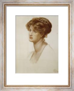 Portrait Of Mrs. William J. Stillman, Nee Marie Spartali, 1869 by Dante Gabriel Rossetti