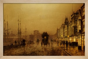 Glasgow Docks by John Atkinson Grimshaw