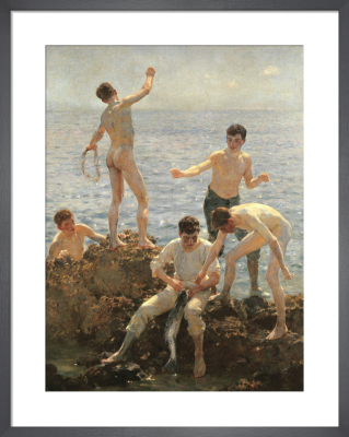Midsummer Morning, 1908 by Henry Scott Tuke