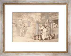 The Cuckold's Lover by Thomas Rowlandson