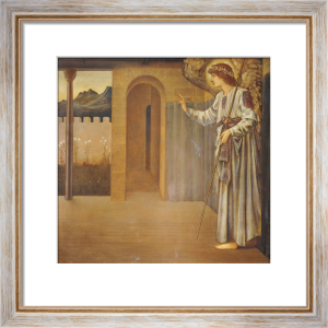 The Annunciation, 1893 by Sir Edward Burne-Jones