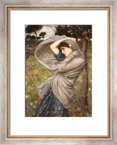 Boreas, 1903 by John William Waterhouse