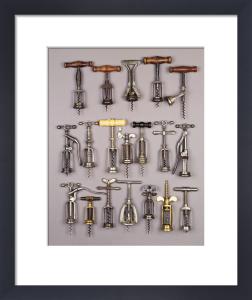 Vintage Corkscrews by Christie's Images