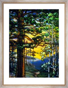 Landscape Window by Tiffany Studios