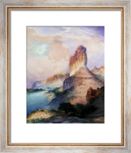 Castle Butte, Green River Wyoming by Thomas Moran