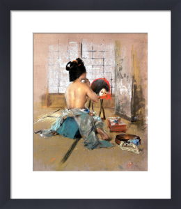 Geisha at her Toilet by Robert Frederick Blum