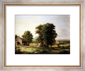 Summer Landscape by George Henry Durrie