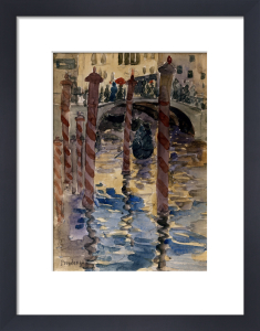 Venetian Scene by Maurice Prendergast
