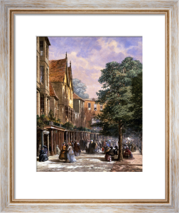 The Pantiles, Tunbridge Wells by Louise Rayner