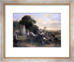 The Football Game by Thomas Webster
