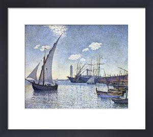 Port De Cette, Les Tartanes by Theodore van Rysselberghe