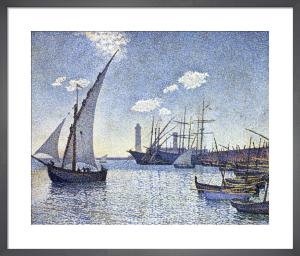 Port de Cette, Les Tartanes by Theophile van Rysselberghe