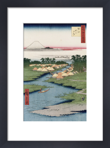 'Nekozane At Horikiri by Ando Hiroshige