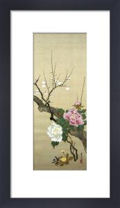 Autumn Flowers II by Suzuki Motonaga Kiitsu