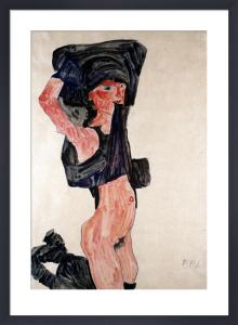 Kneeling Girl (Kniedes Maedchen) by Egon Schiele