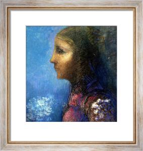 Profile: Le Drapeau by Odilon Redon