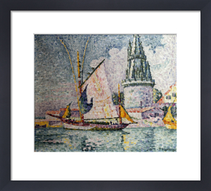 The Voyage Of The Four Sergeants At La Rochelle by Paul Signac