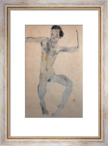 Self-Portrait by Egon Schiele