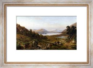 Head Of Lough Corrib, Connemara by John Faulkner