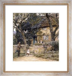 The Fiddler by Helen Allingham