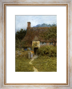 Old Cottage, Witley by Helen Allingham