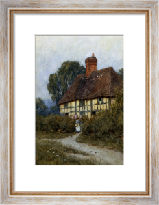 Going Shoppping by Helen Allingham