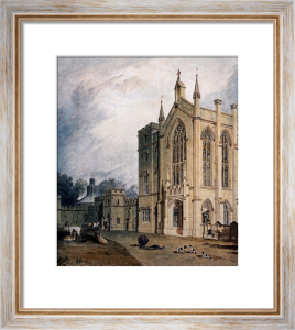 Cassiobury, West Front, Circa 1807 by Joseph Mallord William Turner