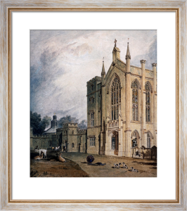 Cassiobury, West Front, c.1807 by Joseph Mallord William Turner