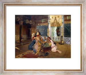 An Eastern Meal by Rudolf Ernst