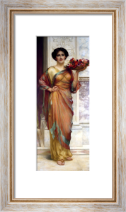 The Basket Of Anemones by William Clark Wontner