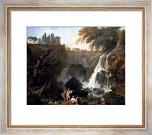 The Cascade At Tivoli by Claude Joseph Vernet